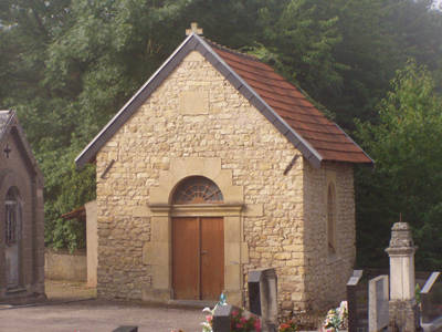 Photo de la chapelle du cimetière Kœnigsmacker